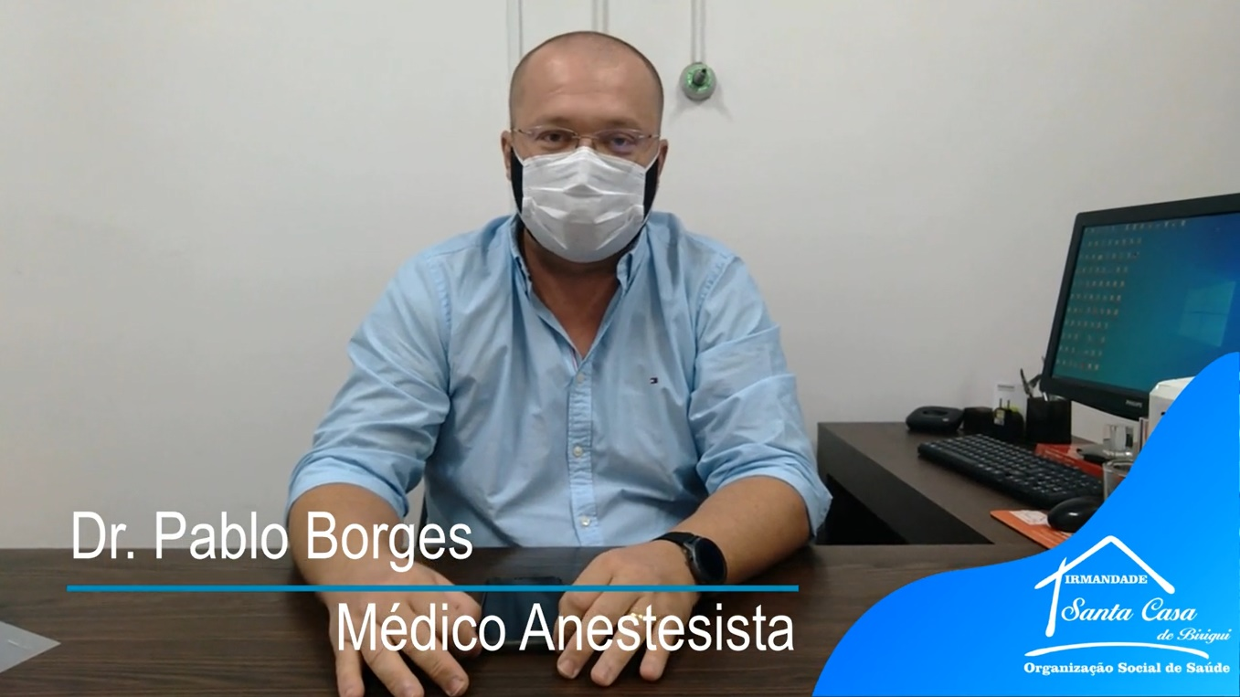 Dr Pablo Borges fala sobre a experiência de passar de cuidador para paciente Covid – 19