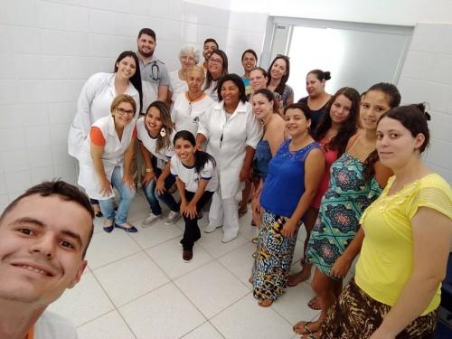 Estratégia Saúde Da Família Do Bairro Colinas Realizou Palestra Com O Tema Aleitamento Materno