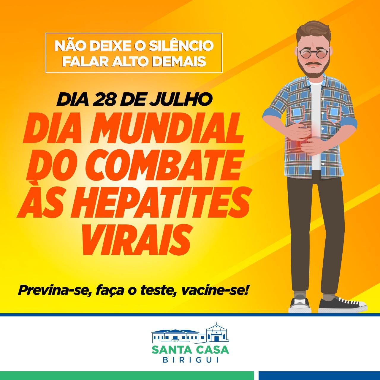 28 de Julho – Dia Mundial das Hepatites Virais